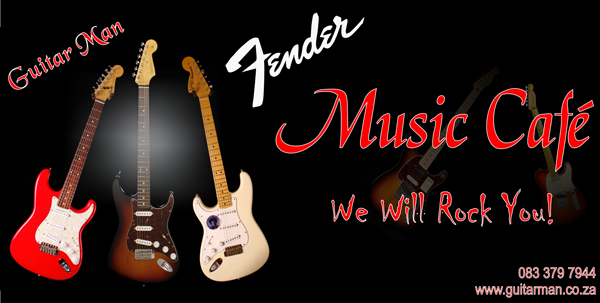 Fender Music cafe